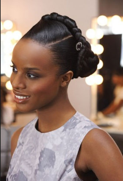 Bridal Hairstyles For Short Afro Hair 26 28 204x300