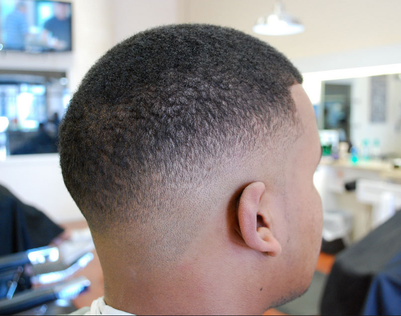 african american men hairstyles African American Men Hairstyles low tapered fro out 1