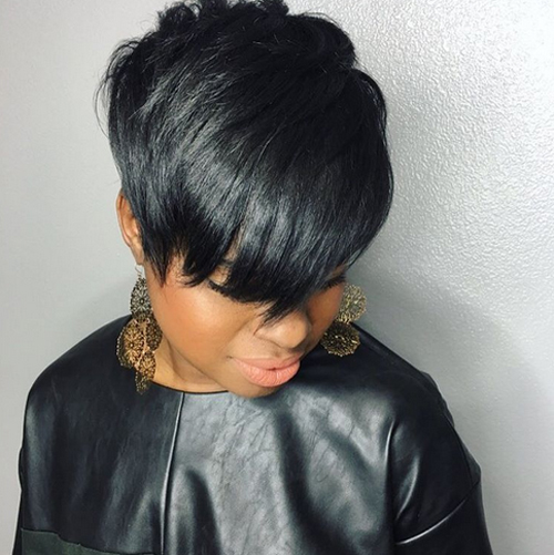 short black hairstyles with bangs Short Black Hairstyles With Bangs short black hairstyles with bangs 11