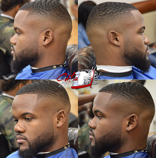 short hairstyles for black men Stylish Short Hairstyles for Black Men short hairstyles for black men 17