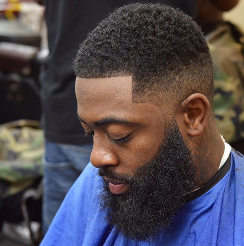 short hairstyles for black men Stylish Short Hairstyles for Black Men short hairstyles for black men 18