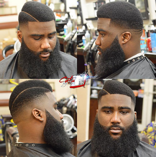 short hairstyles for black men Stylish Short Hairstyles for Black Men short hairstyles for black men 20