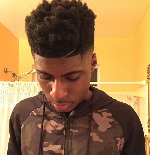 short hairstyles for black men Stylish Short Hairstyles for Black Men short hairstyles for black men 24
