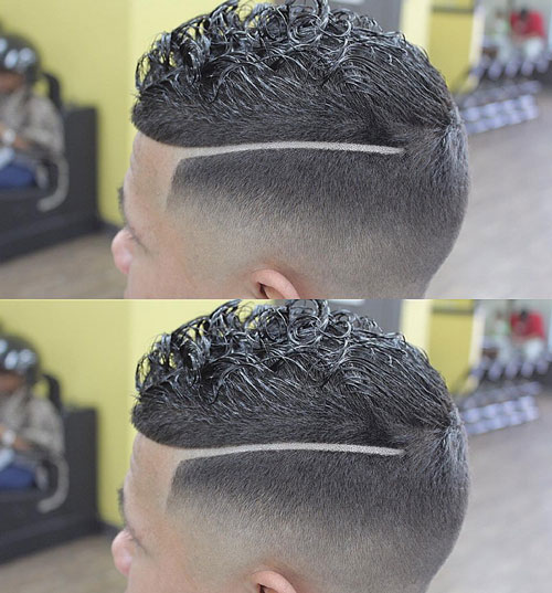 short hairstyles for black men Stylish Short Hairstyles for Black Men short hairstyles for black men 29