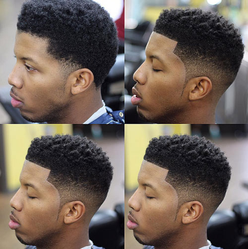 short hairstyles for black men Stylish Short Hairstyles for Black Men short hairstyles for black men 6