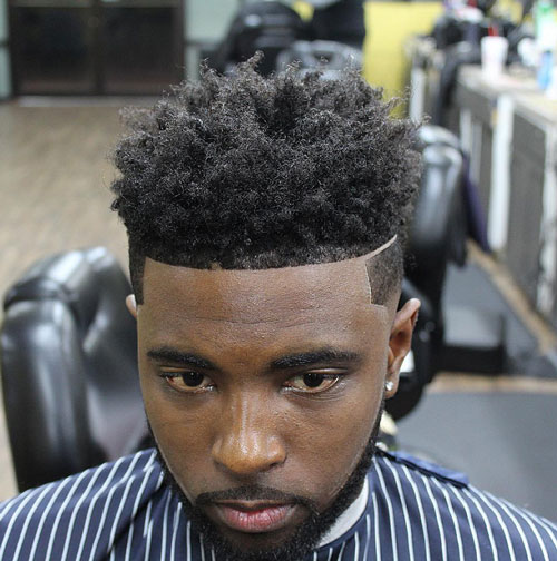short hairstyles for black men Stylish Short Hairstyles for Black Men short hairstyles for black men 7