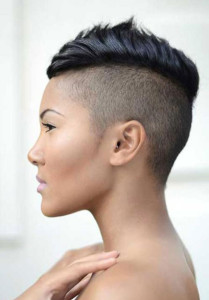 Mohawk 4 short hairstyles for black women 14 209x300
