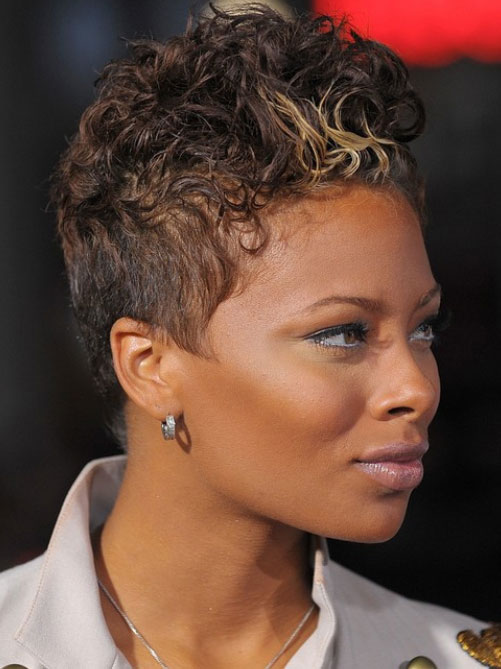 short hairstyles for black women Cute Short Hairstyles for Black Women short hairstyles for black women 19