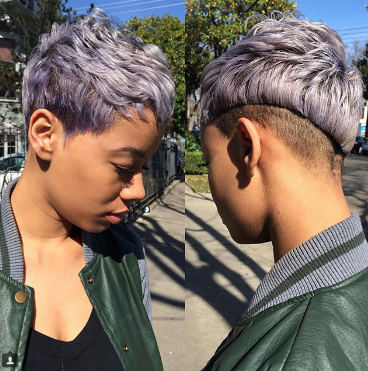 short hairstyles for black women Cute Short Hairstyles for Black Women short hairstyles for black women 2