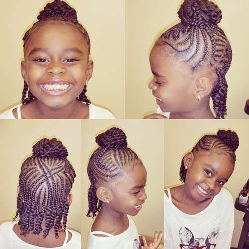 children's braids black hairstyles Trendy Children's Braids Black Hairstyles childrens braids black hairstyles 20