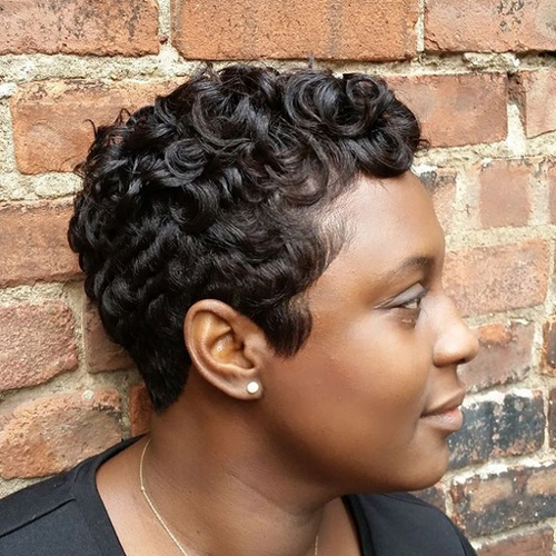pixie hairstyles for black women The Pixie Hairstyles for Black Women pixie hairstyles for black women 10