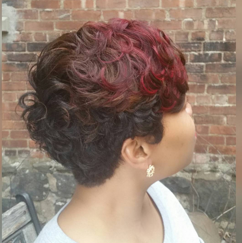 pixie hairstyles for black women The Pixie Hairstyles for Black Women pixie hairstyles for black women 11