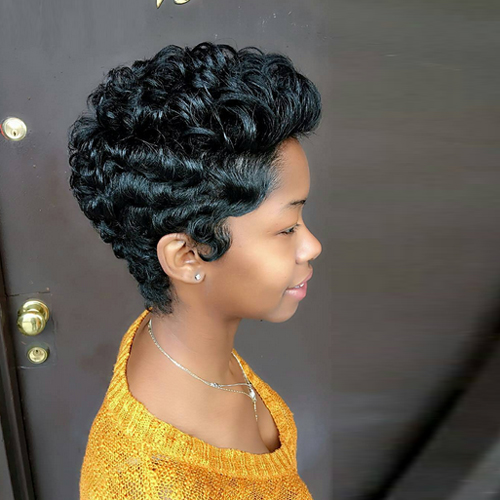 pixie hairstyles for black women The Pixie Hairstyles for Black Women pixie hairstyles for black women 16