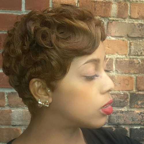 pixie hairstyles for black women The Pixie Hairstyles for Black Women pixie hairstyles for black women 7