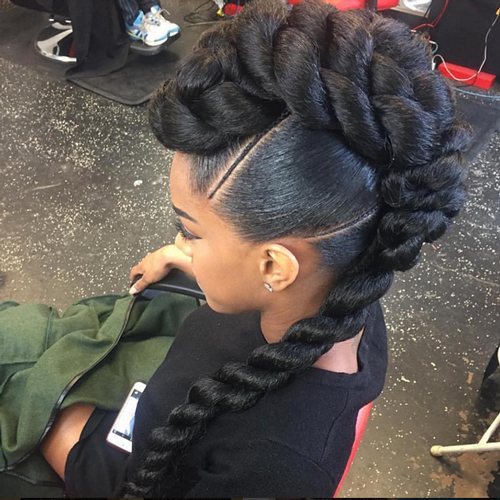 african american braids updo hairstyles 2