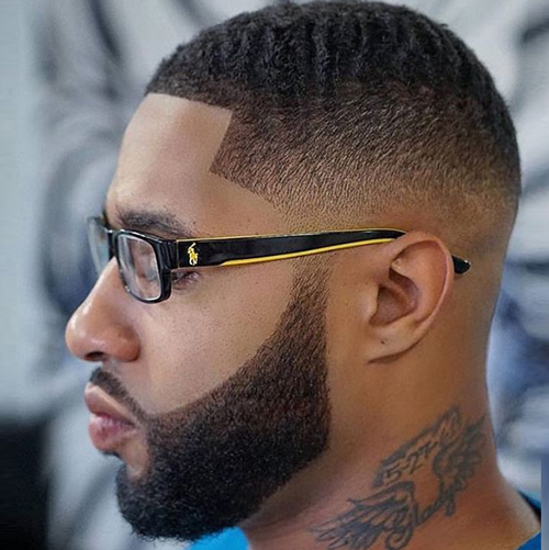 taper fade haircut with beard 1 taper fade haircut with beard The Amazing Benefits of a Taper Fade Haircut With Beard and More taper fade haircut with beard 3