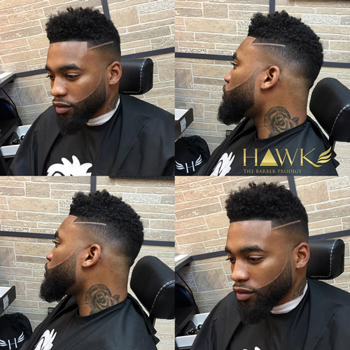 taper fade haircut with beard taper fade haircut with beard The Amazing Benefits of a Taper Fade Haircut With Beard and More taper fade haircut with beard