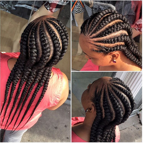 Black Kids Cornrow Hairstyles