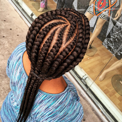 Black Girl Cornrow Hairstyles Hairstylegalleries Com