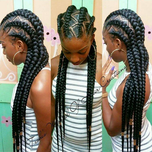 Cornrow Hairstyles cornrow hairstyles for black women zumi magazine 8 African American Cornrow Hairstyles Pictures