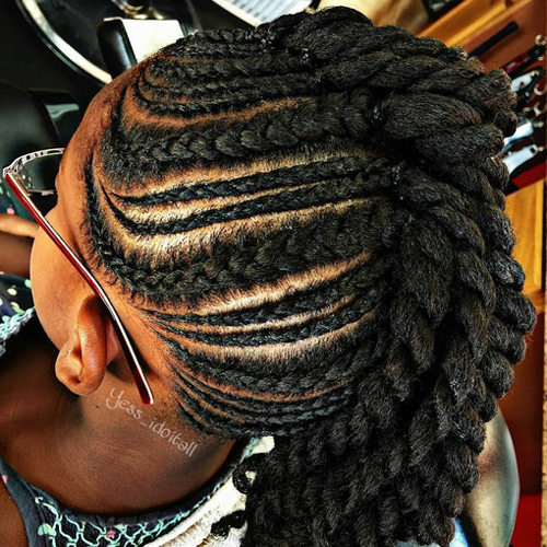 African American Cornrow Hairstyles African American
