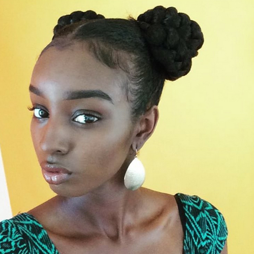 prom hairstyles african american hair 14