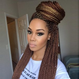 Senegalese twists flat twists hairstyles 15 300x300