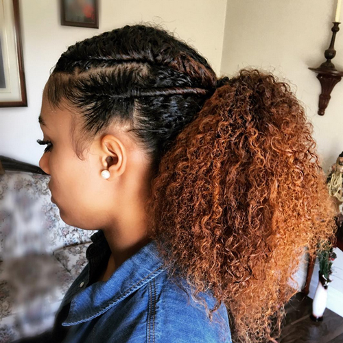 How to Take Care of Long Curly Hairstyles for African American Women ...