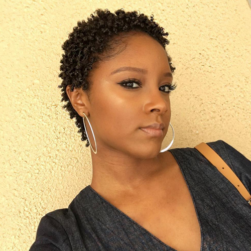 short natural african american hairstyles 28