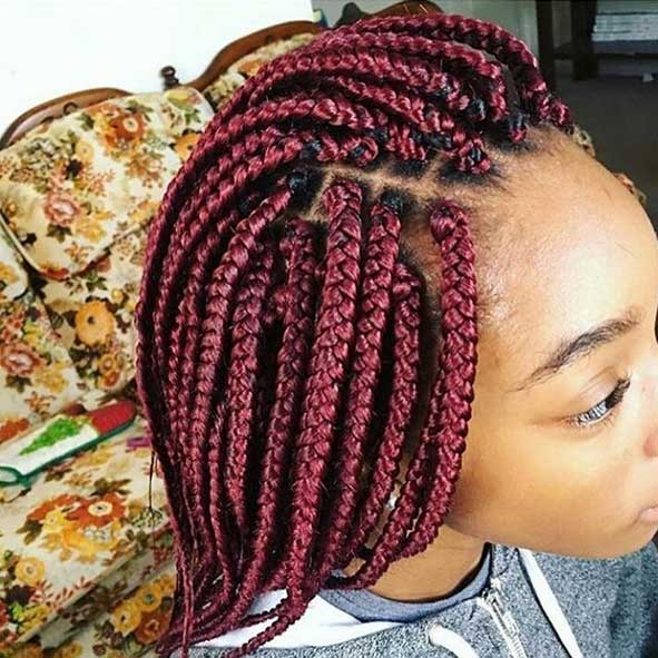 Best Box Braids Hairstyles For Black Women African